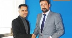 * David Ropero, CEO de Simumak y Julio Aparicio, Director General de AEOL